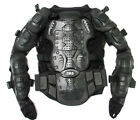 Motorcycle Full Body Armor Jacket Spine Chest Protection Gear ~S M L XL 2XL 3XL cheap