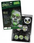 HALLOWEEN ADULT MAKEUP KIT SCARY GROSS TOXIC RADIOACTIVE ZOMBIE COSTUME MAKE UP