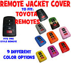 TOYOTA CAMRY AVALON COROLLA HIGHLANDER RAV 4 KEYLESS ENTRY REMOTE COVER JACKET