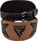 RDX Pro Gel Weight Lifting Body Building Gym Gloves Straps Bar Leather Training
