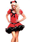 Woman Halloween Minnie Mouse FANCY Dress Costume All Sizes Plus Size
