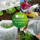 2m Wide Garden Cold, Frost, Wind Fleece for Winter Plant Protection, 5 - 250m