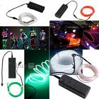 Flexible White/Blue/Red/Green Neon EL Glow Light Wire Rope Car Party