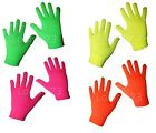 G67 LADIES OLDER GIRLS BOYS 4prs MAGIC GLOVES NEON WINTER WARM COLD PROTECTION