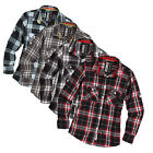 SURPLUS RAW DAMEN LUMBERJACK SHIRT HEMD HOLZFÄLLER BLUSE WOOD CUTTER KARIERT