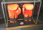 SIGNED FULL SIZE DOUBLE BOXING GLOVE - GLASS DISPLAY CASE ONLY