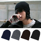 Fashion Mens Ladies Slouch Beanie Knitted Oversize Beanie Hat Cap