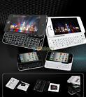 New Ultra-thin Slide-Out Wireless Bluetooth 3.0 Keyboard Case Cover for iphone 5
