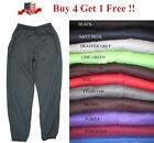 NEW MENS FLEECE 3 POCKET SWEATPANTS GYM SPORTS WORKOUT SWEAT PANTS S 5XL