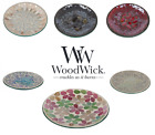 NEW Glass Candle Plates Woodwick Accessories For Scented or Unscented Candles