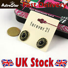 New Fashion Vintage Retro Style Forever 21 Oval Clip Studs Pierced Earrings Hot