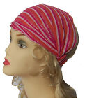 Cotton Striped 20s 20's Hair Head Band Headband Hairband Chemo Headwrap Scarf