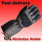 RST ALPHA II WP 1886 WATERPROOF LEATHER AND TEXTILE TOURING GLOVE GUNMETAL