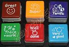 Teacher classroom reward stamp stampers self inking select 1 or 6 FREE POST E46