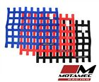 Motamec Racing Driver Window Net Rectangle SFI Approved Race Car Stock