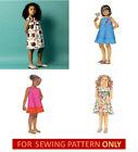 SEWING PATTERN! MAKE GIRLS DRESS~SUNDRESS! SIZES TODDLER 1 TO CHILD 6! EASY!