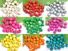 Lots 100/200pcs Wood Round Spacer Charms Beads 10MM Jewelry Make Findings