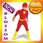 CK37 DC Comics The Flash Muscle Chest Deluxe Toddler/Child Superhero Costume