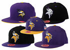 Mitchell & Ness Minnesota Vikings NFL Football Throwback Fitted Hat Caps