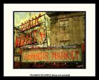 PIKE PLACE FARMER'S PUBLIC MARKET Sign SEATTLE LANDMARK Art Print by S.G.ROSE