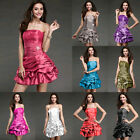New Hot Bridesmaid Prom Party Grown Cocktail Wedding Stock Women Evening Dress