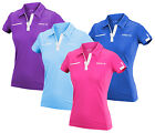 Adidas Womens Fashion Performance Golf Pocket Polo Polos Shirts Tops