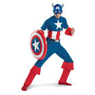 Adult Captain America Costume Halloween
