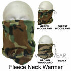 MENS FLEECE NECK WARMER SNOOD BALACLAVA HAT/CAP WINTER GAITOR THERMAL SPORTS NEW