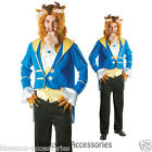 C706 Mens Beast Disney Beauty And The Beast Licensed Fancy Dress Adult  Costume