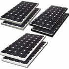 2 x  Biard 100W 200 Watt Solar PV Panels 12v 24v Battery White, Black or Silver