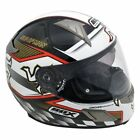 BOX BZ-1 New  Isle of Man TT   Motorbike Crash Helmet with internal black visor