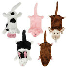 Unstuffies Dog Toy FARM FRIENDS toys cow pig goat mole rabbit stuffing free B21