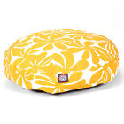 Majestic Pet Yellow Plantation Round Pet Bed - Dog Bed
