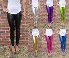 Petite Length Leggings Ultrashine with Spandex SIZES 8 - 18