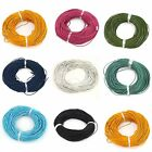 Oxhide Leather Cord  Line Assorted Real Leather Jewelry Cord Necklace 1.5mm