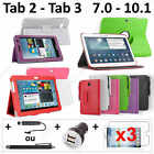 Pack Accessoire Etui Coque Housse Protection Samsung Galaxy Tab 3 2 7.0 10.1