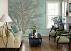 Teal Tree Hugger Peel & Stick Tella Mural ~ Size Choice