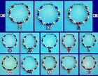 CHOOSE TEAM New Bracelet Ladies High Quality NO Plasic Beads 7.5-8.5in MLB Charm