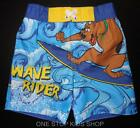 SCOOBY DOO Todder Boys 2T 3T 4T Shorts SWIM TRUNKS Bathing Suit Surfing