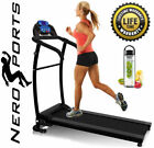 Folding Treadmill Motorised Running Machine Electric Power Fitness Exercise New günstig