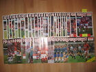 Nottingham Forest Homes 1987-88 1988-89 Division 1 + LC + FAC  + Simod SF