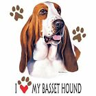 Basset Hound Love Hood Sweatshirt & Sweatpants Pick Your Size