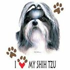 Shih Tzu Love Hood Sweatshirt & Sweatpants Pick Your Size