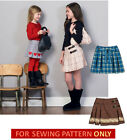 SEWING PATTERN! MAKE SKIRTs~PURSES! CHILD 3 TO GIRL 14! SCHOOL CLOTHES!