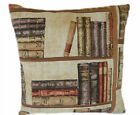 "1 CUSHION COVER-made in VINTAGE LIBRARY BOOKS  12"",14""16,18"",20"" 22"" 24"