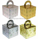 10 Sparkly Favour Box / Helium Balloon Weight Boxes Wedding Engagement Party
