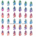 7ft Sparkly Multicolour Foil Hanging Cascade Column Birthday Party Decoration
