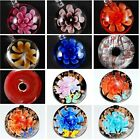 1PC Lampwork Glass Flower Murano Beads Pendant For Necklace NP Jewellery Craft