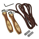 RDX Leather Jumping Skipping Speed Rope Adjustable Fitness Home Gym