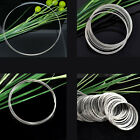 Memory Beading Wire for Bracelets/Necklaces Sliver Tone M1407